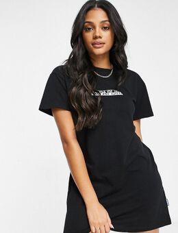 Box - T-shirtjurk in zwart