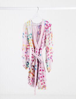 Lustrous - Mini-jurk-Meerkleurig