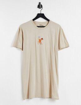 Disney - Bambi - T-shirtjurk in zandkleur-Neutraal