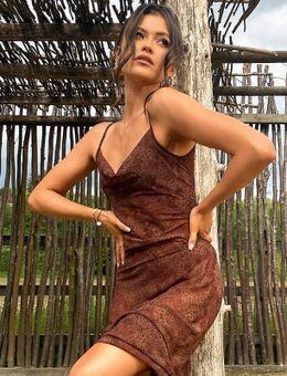 X Natalya Wright - Exclusieve lange strandjurk met dierenprint-Meerkleurig