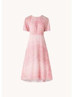 L-K-Bennett Elowen midi jurk met print