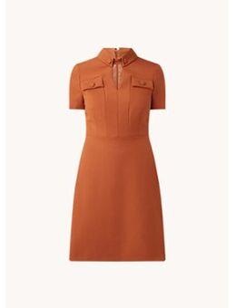 Jenna mini jurk met borstzakken