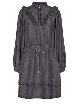 Denim jurk Coral grijs