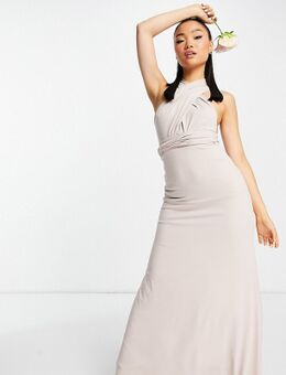 – Bridesmaid – Maxikleid mit Multiway-Design in Rosa