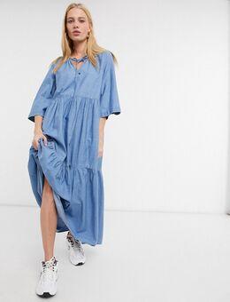 – Joy – Kleid in Hellblau