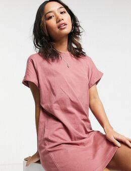 – Xena – T-Shirt-Kleid in Rosa