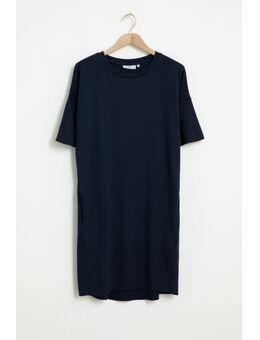 Donkerblauwe jurk Regitza 0265