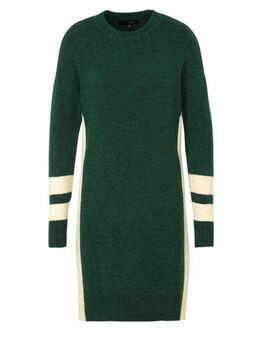 Gebreide jurk groen