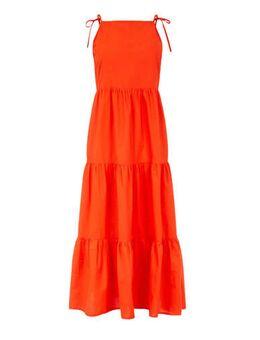 Maxi jurk Martha rood
