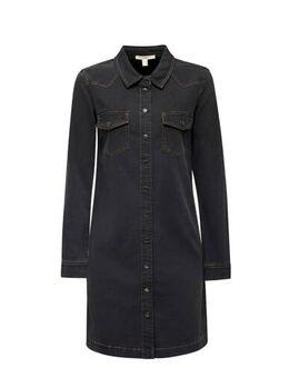 Women Casual jurk grijs
