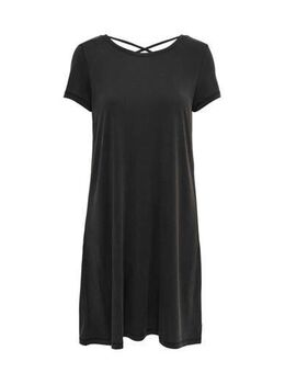Jersey jurk Free zwart