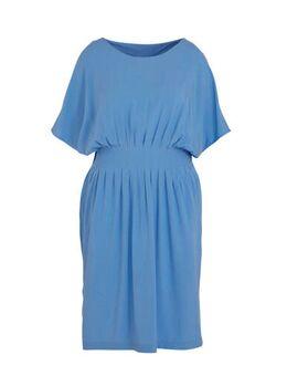 Jersey jurk blauw