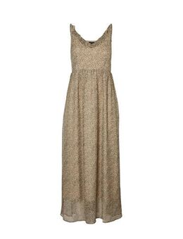 Maxi jurk zand