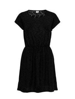 Gehaakte jurk zwart