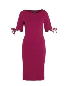 Jersey jurk Brandeis fuchsia