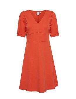 A-lijn jurk Ihkate oranje