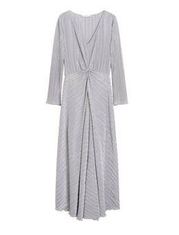 Maxi jurk zilver