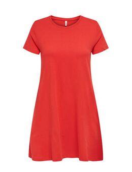 A-lijn jurk rood
