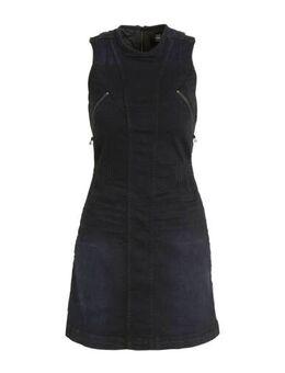 Spijkerjurk Lynn donkerblauw