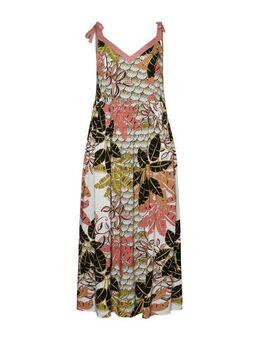 Maxi jurk met all over print groen/multi