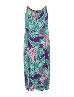Maxi jurk Swirl met paisleyprint multi