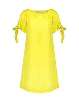 A-lijn jurk geel
