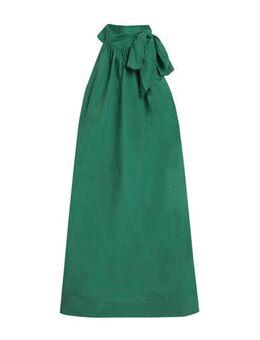Halter jurk donkergroen