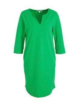 Geweven jurk groen