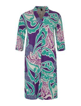 A-lijn jurk Swirl met paisleyprint multi