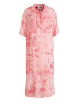 Tie-dye blousejurk Briee roze
