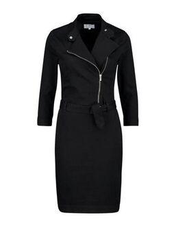 Denim jurk zwart