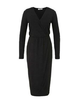 Jersey jurk antraciet