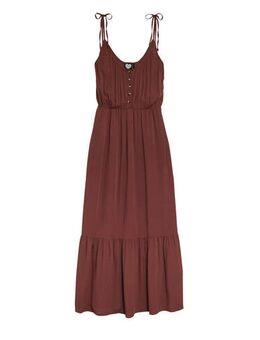 Maxi jurk Palau roodbruin