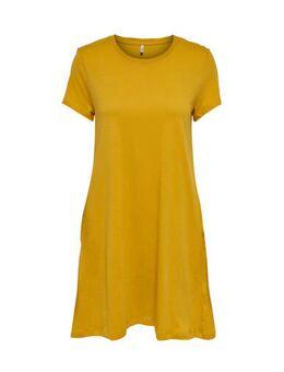 A-lijn jurk May geel
