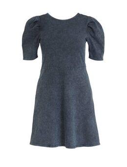 XL Clockhouse A-lijn jurk blauw