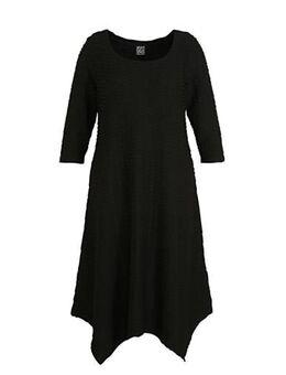 Gebreide jurk Sille zwart