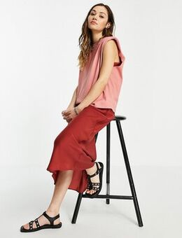 Tierneyconi 2 in 1 tank dress in rose pink