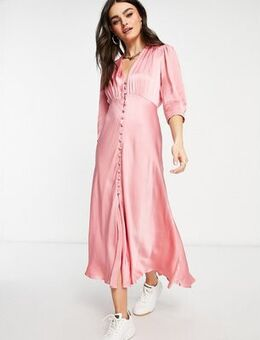 Maddison dress in dusty pink