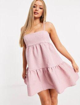 London babydoll dress in pink