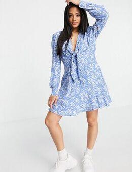 Heidiee dress in blue