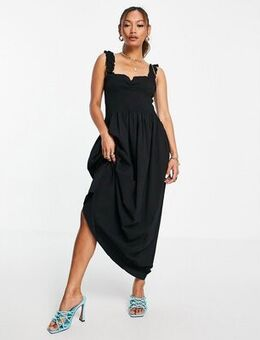 Parsley maxi dress in black