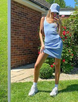 Jenny mini cami knit dress in blue