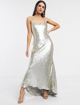 Cami embellished maxi dress-Multi