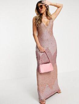 Kasia maxi dress in pink