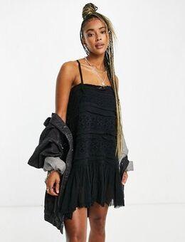 Shailee slip dress in black