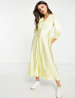 Maddison dress in lemon-Yellow