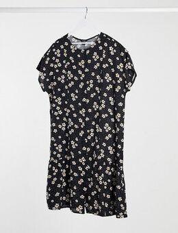Floral shift dress-Multi