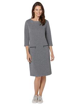 NU 20% KORTING: gedessineerde jurk Jerseyjurk