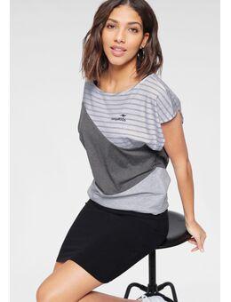 2-in-1-jurk zomerse combinatie: jurk en shirt (2-delig)