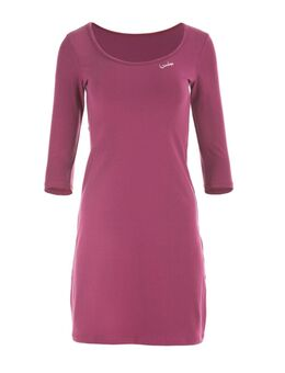 NU 20% KORTING: jurk in a-lijn WK2 3/4-mouw